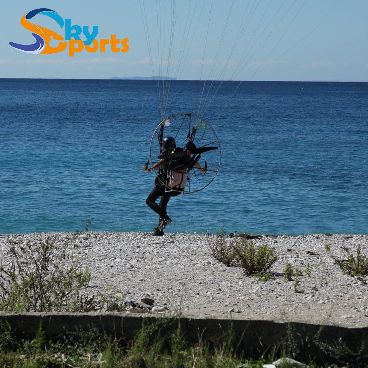 Motorized Paragliding