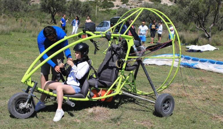 paratrike Paragliding Durres Skysports