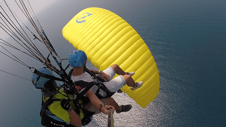 Posta Shqiptare Tandem Paraglidingblue sea skysports