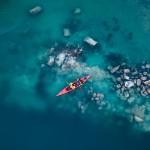 Canoeing in albania