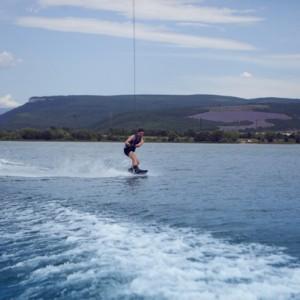 waterskiing Albania