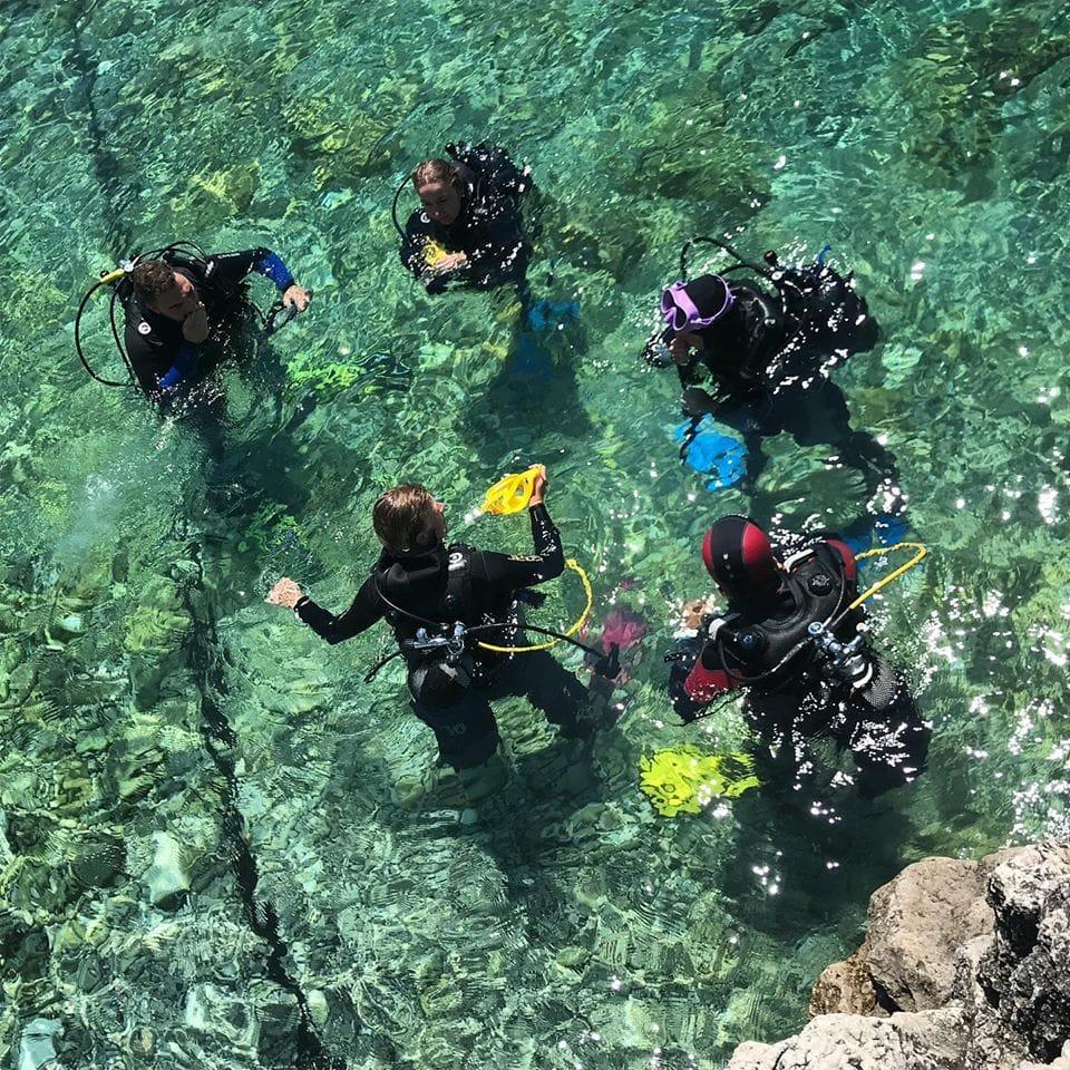 Scuba Diving in Albania - Zhytje ne Det