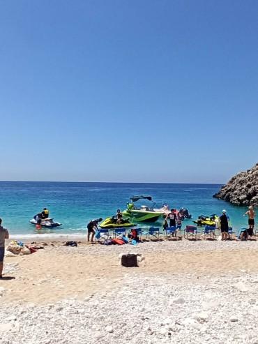 Gjiri Shen Andrea Deti Jon Boat Trip Albania