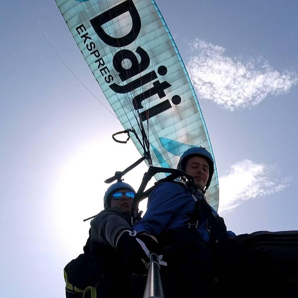 paragliding dajti Tirane, Artion Vreto